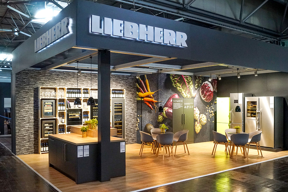Messestand Liebherr 2019
