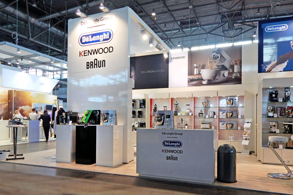 Messestand DeLonghi