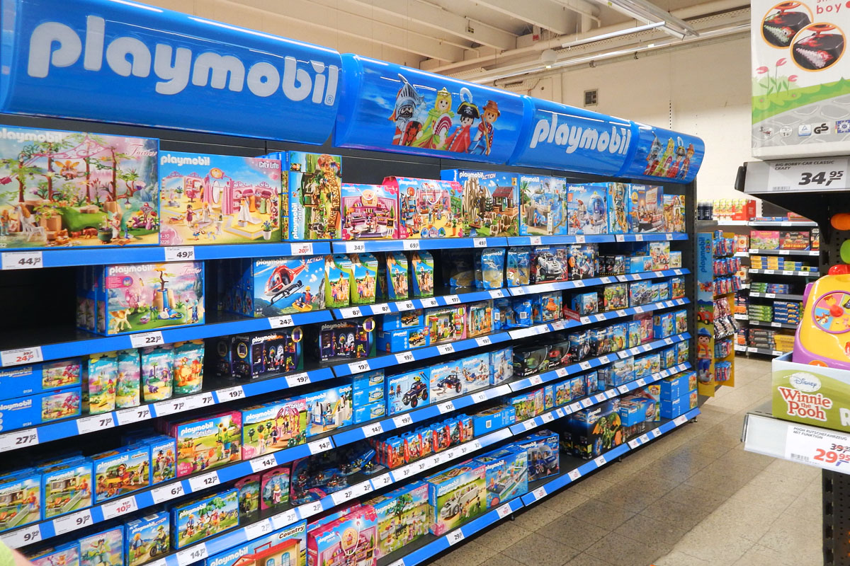 Playmobil Display